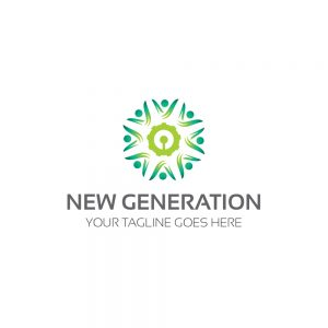 New Generation Logo Template