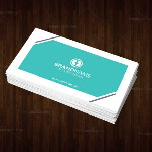 Brand Name Business Card Template