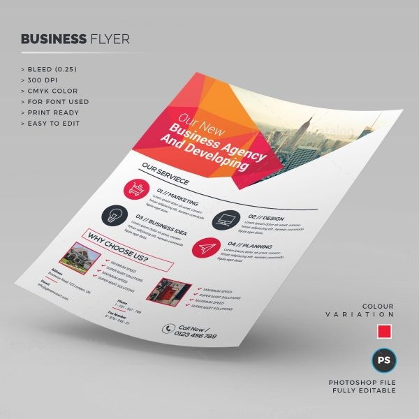 Clean Business Flyer Template 1