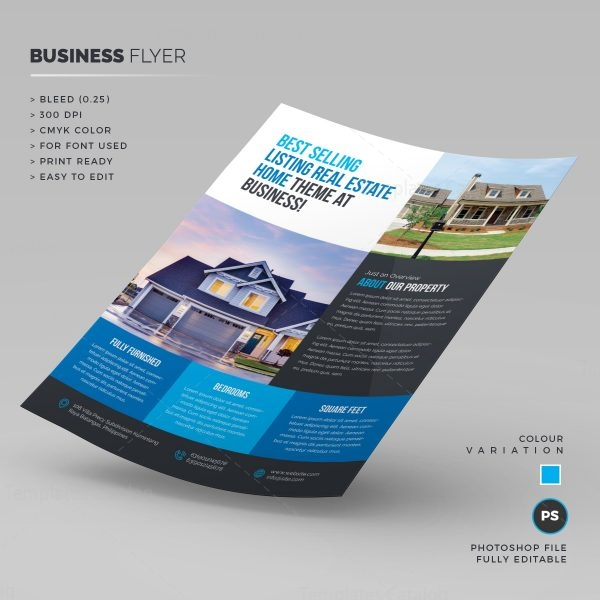 Real Estate Flyer Template 1