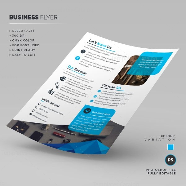 Sleek Corporate Flyer 1