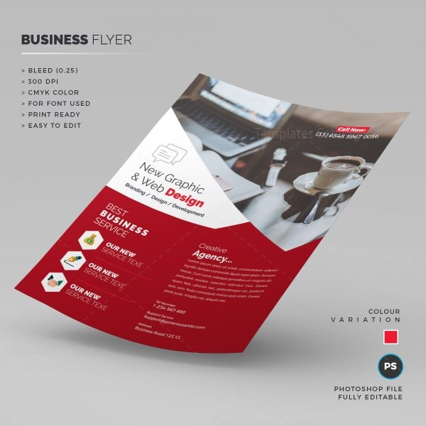 Web Design Flyer Template 1