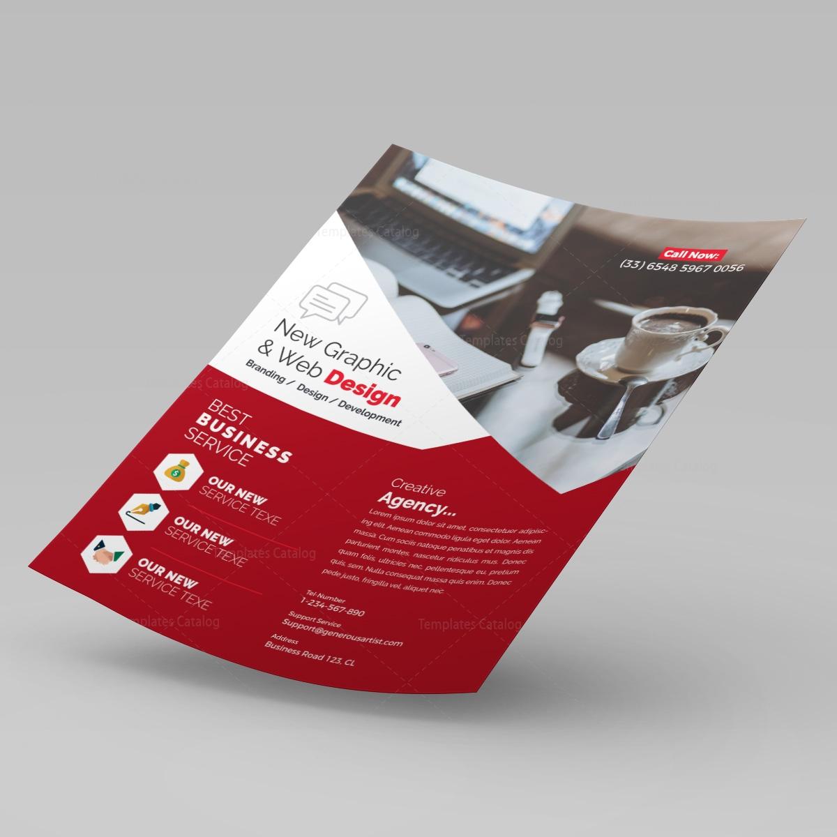 web design flyer template 000240 template catalog