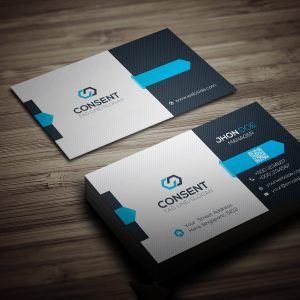 Consent Business Card Template