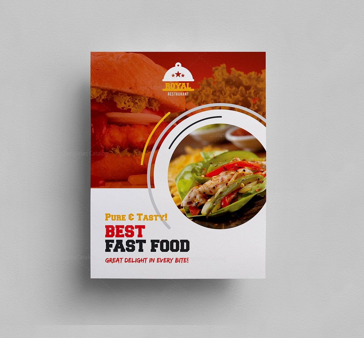 food menu template 000301 template catalog