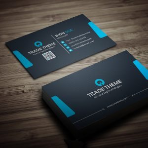 Internet Business Card Template