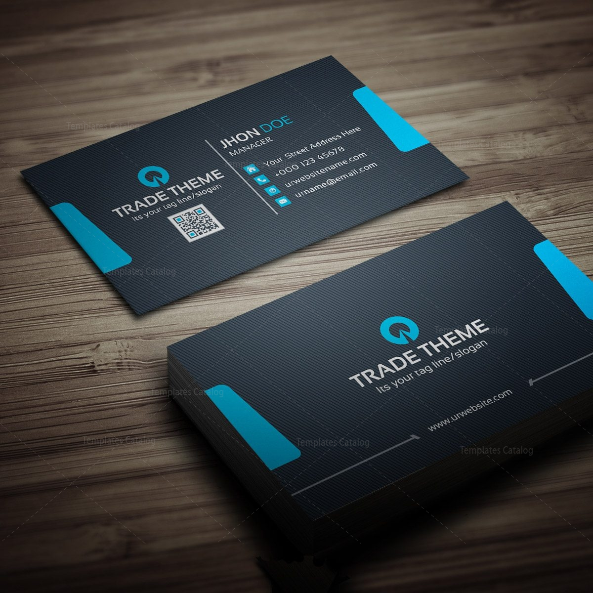 internet business card template 000279 template catalog. Black Bedroom Furniture Sets. Home Design Ideas