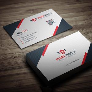 Multimedia Business Card Template