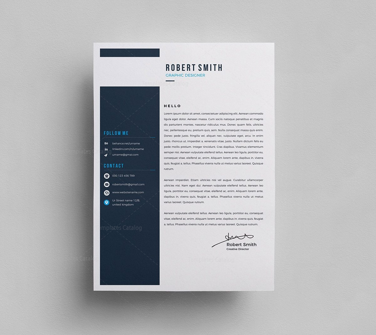 1. Free Word Resume Template