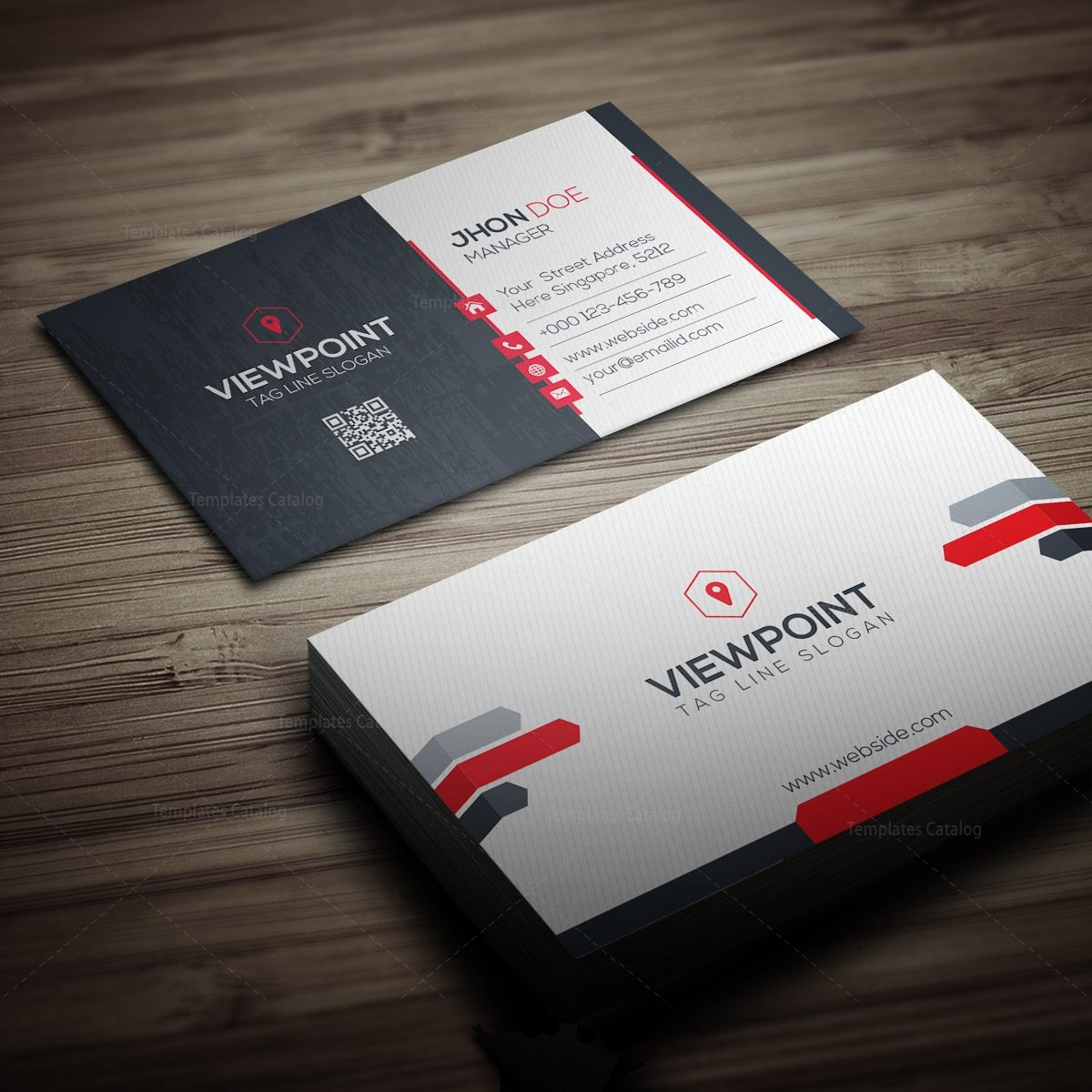 Viewpoint corporate business card 000273 template catalog viewpoint corporate business card 1 magicingreecefo Choice Image