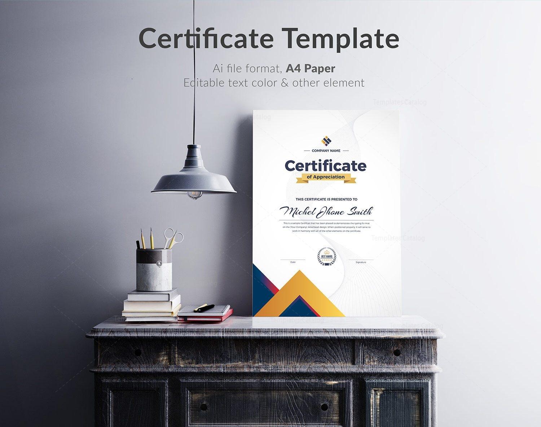 Certificate Template 000325 Template Catalog