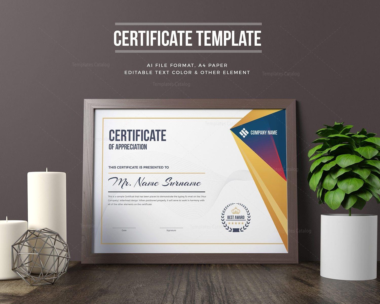 Elegant certificate template 000321 template catalog elegant certificate template 1 xflitez Image collections