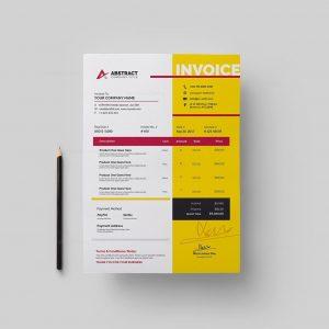 Print Ready Invoice Template
