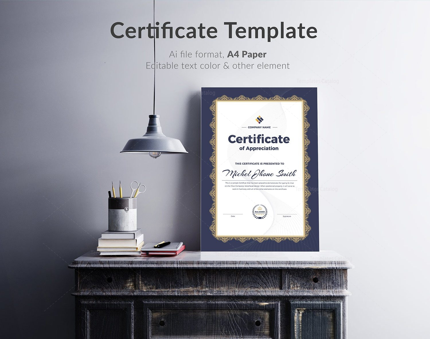 professional certificate template 000324 template catalog
