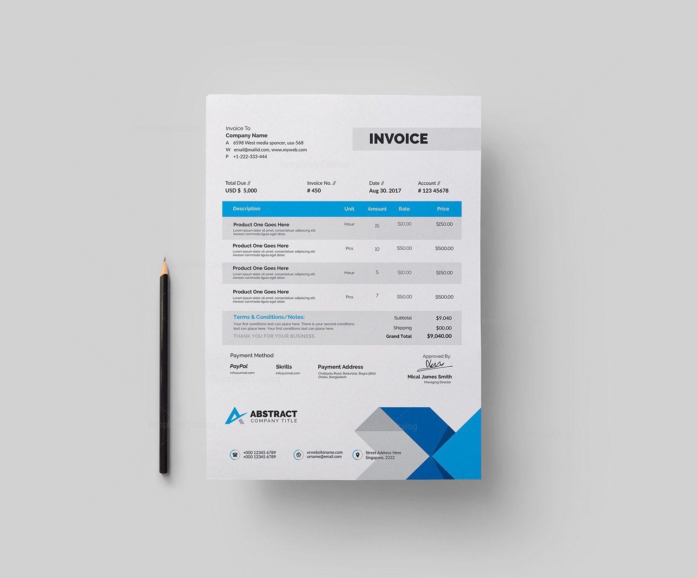 basic invoices