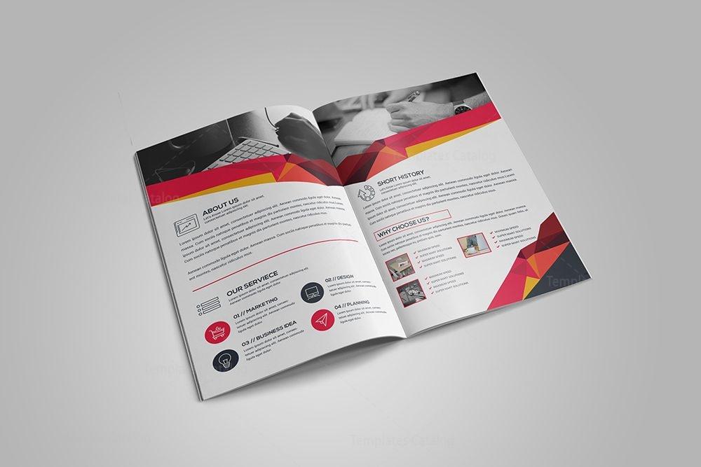 A Bifold Brochure Template Template Catalog - A4 brochure template