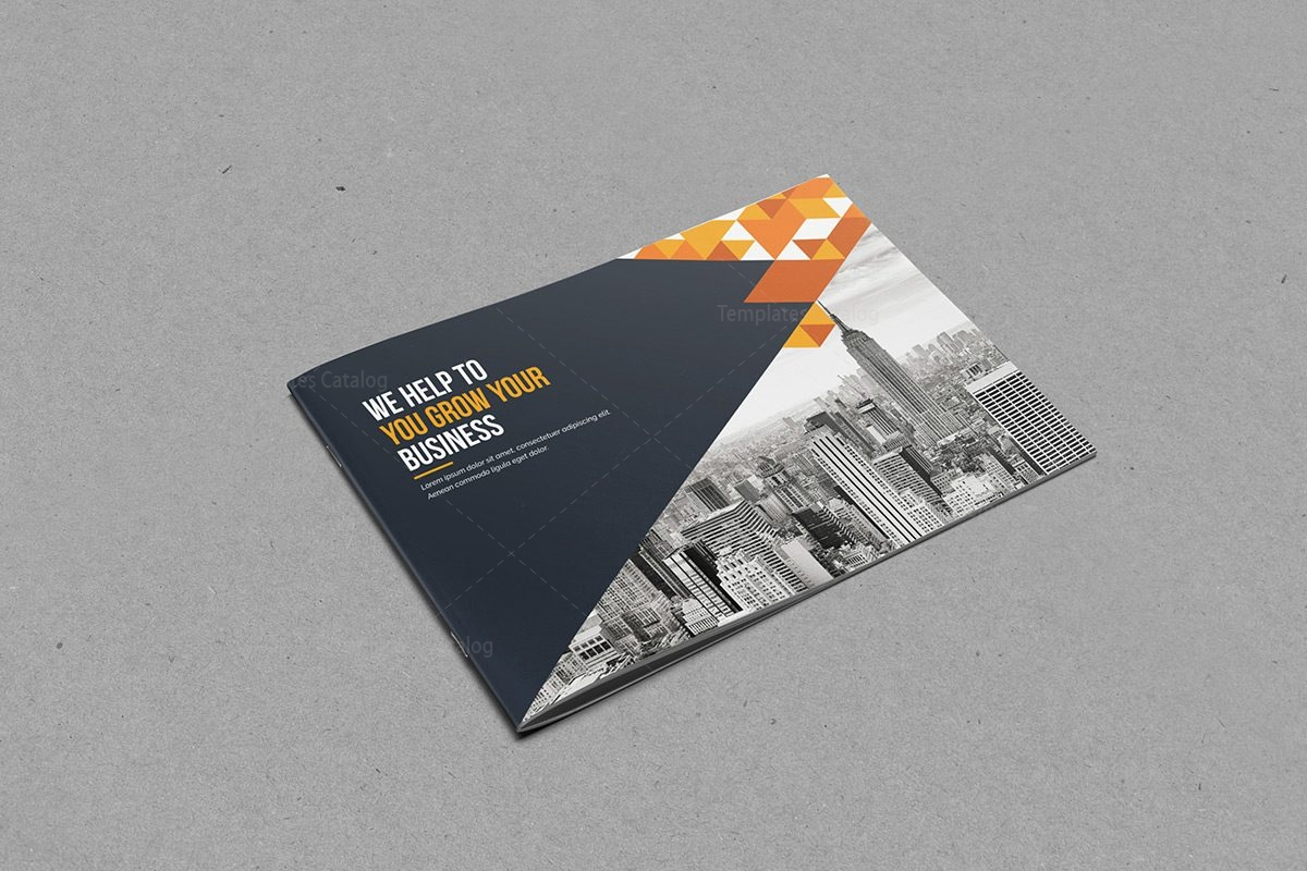 bifold brochure template - bi fold brochure template with classy style 000399