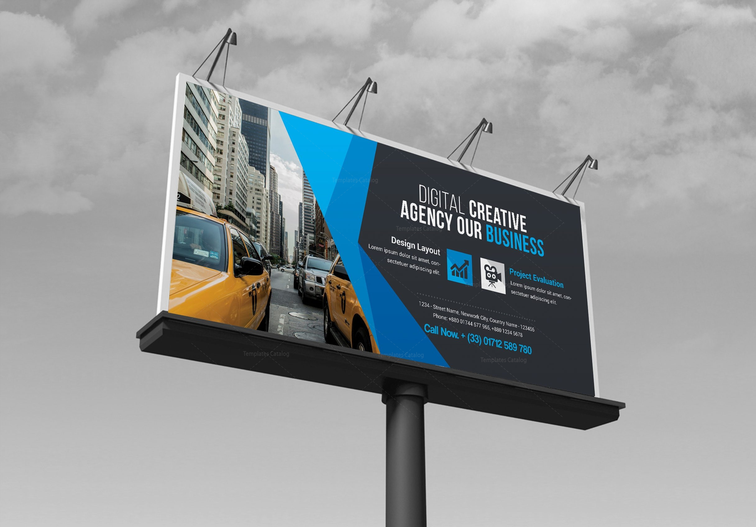 business billboard banner template 000352 template catalog. Black Bedroom Furniture Sets. Home Design Ideas