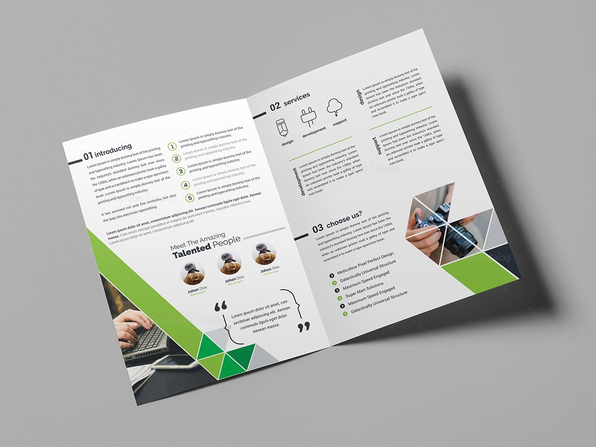 Business brochure design template 000439 template catalog for Brochure outline template