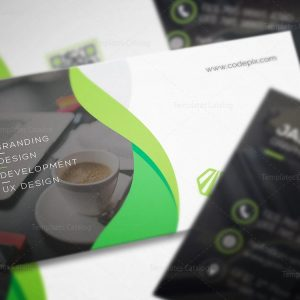 Business Card Design with Modern Style