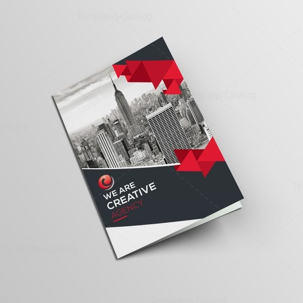 Classy Bifold Brochure Template 000432 Template Catalog
