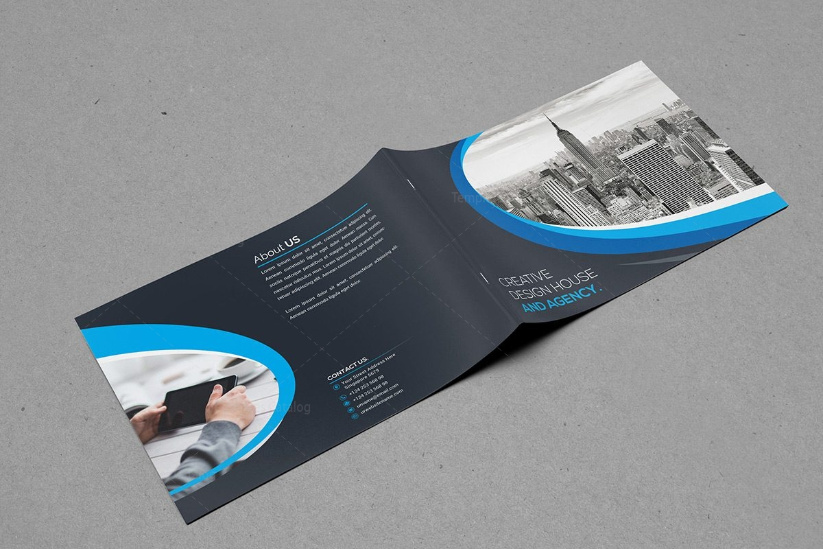 Bi Fold Brochure Template Free Sample Of Receipt Form Printable Classy  Landscape Bi Fold Brochure Template