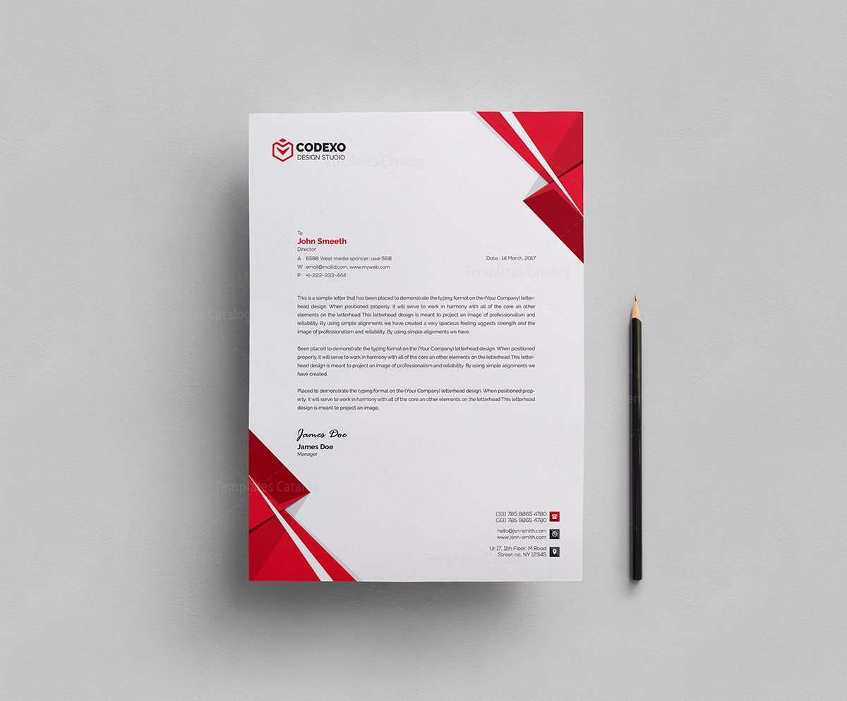 how to add letterheads to word