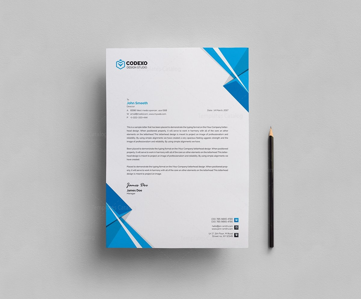 classy letterhead template 000408 template catalog