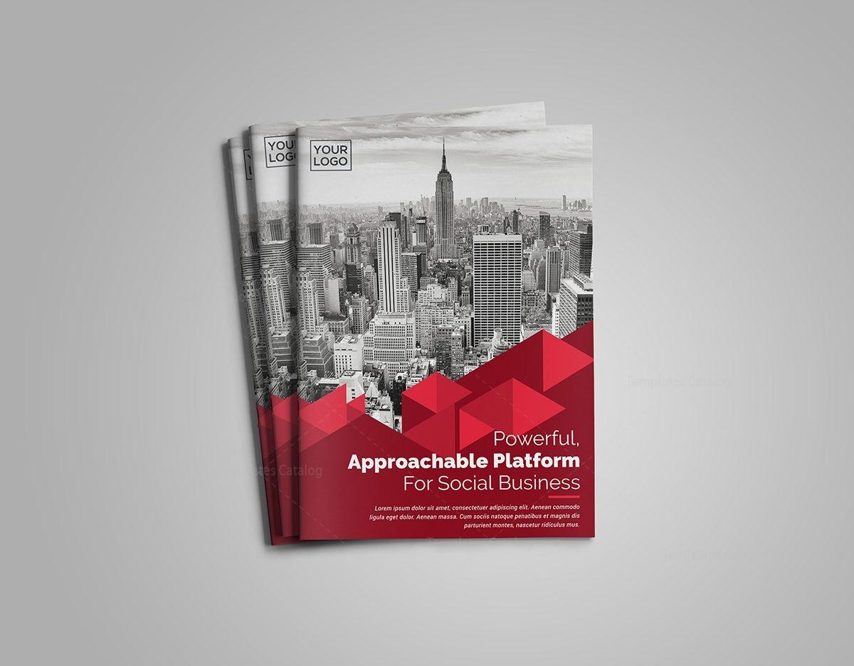 corporate business bifold brochure template 7 - Settlement Brochure Template