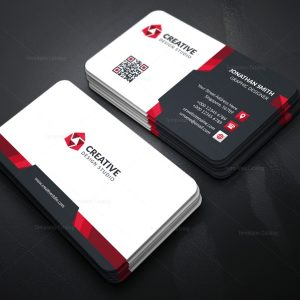 Corporate Business Card with Elegant Style