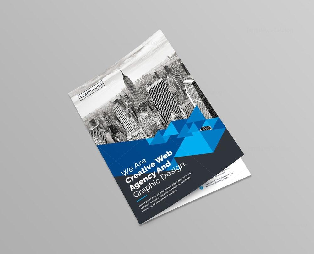 Business Brochure Dazzling Hotel Travel A4 Bi Fold Brochure Corporate  Company Bifold Brochure Template 1 Business