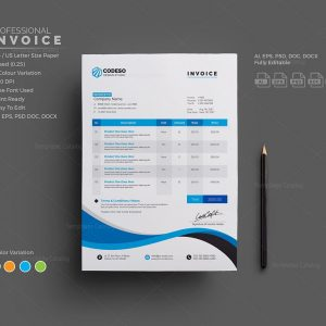 proposals & invoices archives - template catalog, Invoice templates