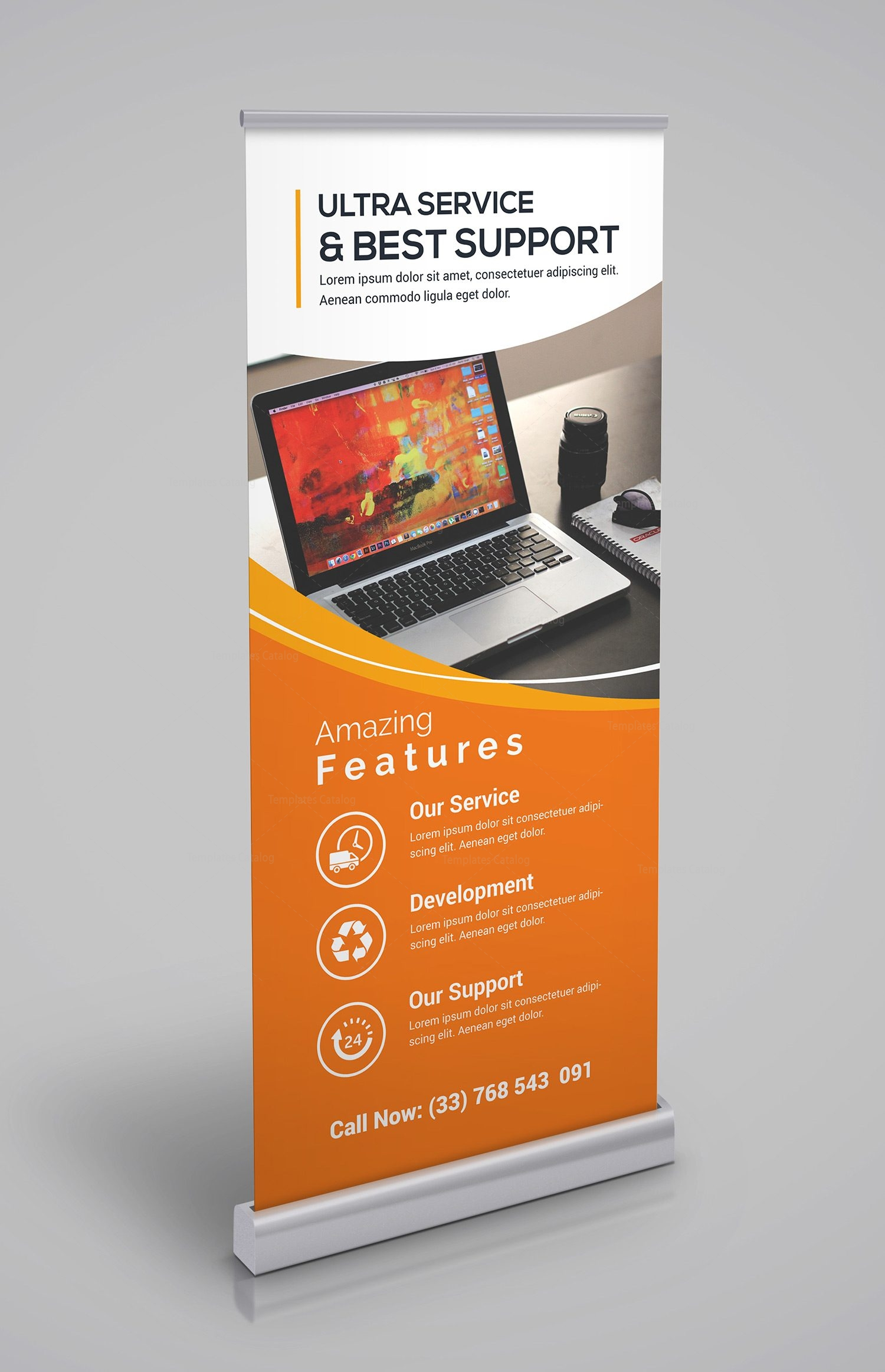 Corporate Roll-up Banner Template - Template Catalog
