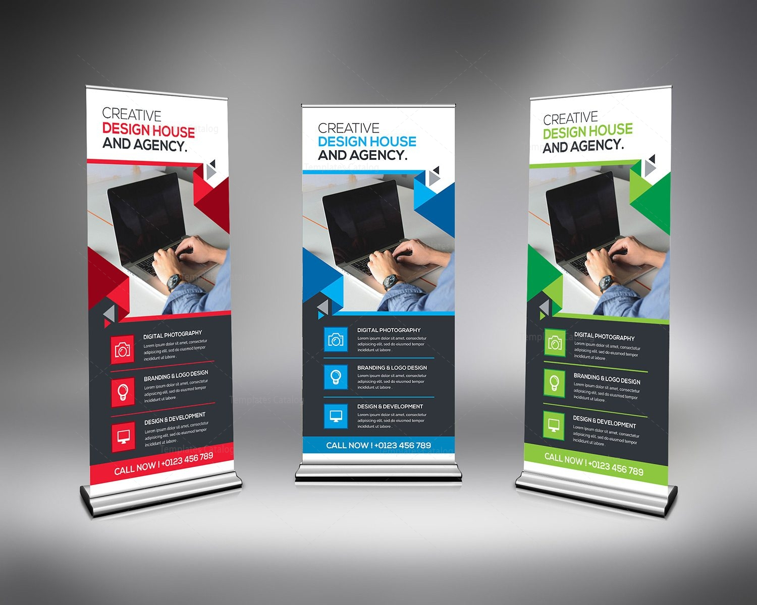 corporate rollup banner template 000348 template catalog