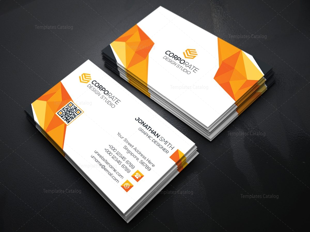 Diamond Creative Business Card Template 000365 - Template Catalog