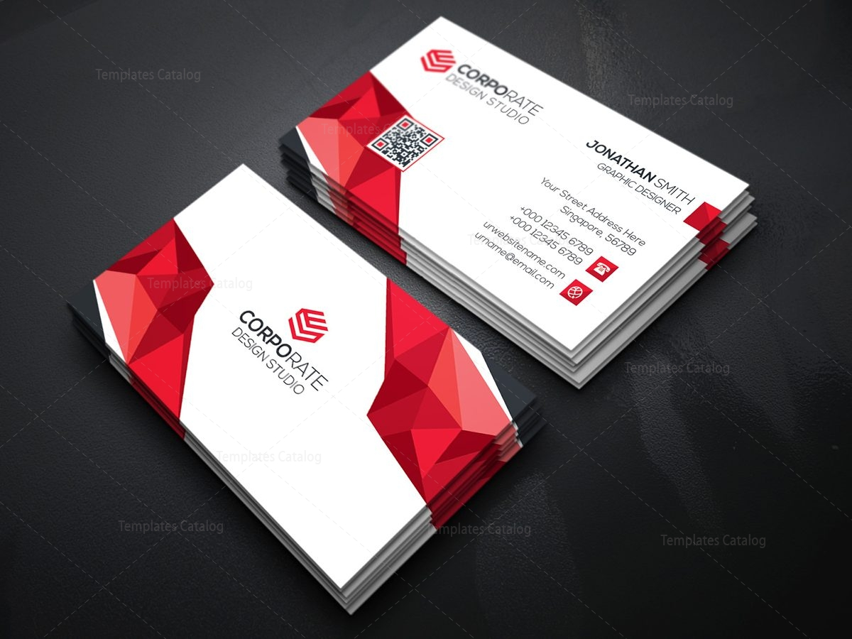 Diamond creative business card template 000365 template catalog diamond creative business card template 4 fbccfo