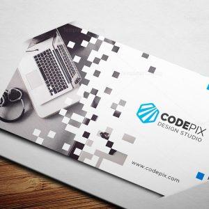 Dot Business Card Template