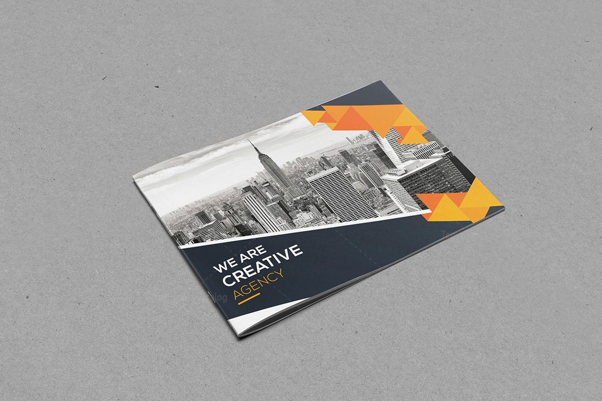 Elegant corporate brochure template 000398 template catalog for Classy brochure design