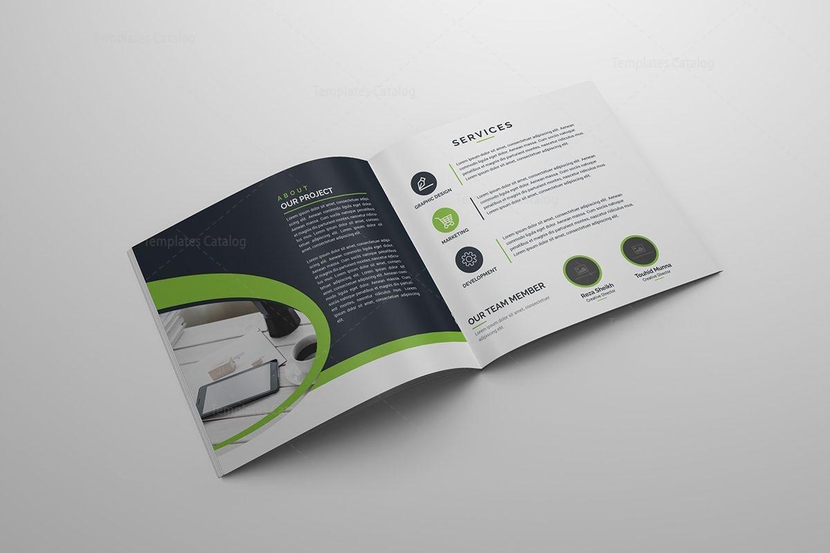 folding brochure template