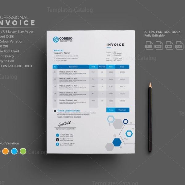 Invoice Template 1