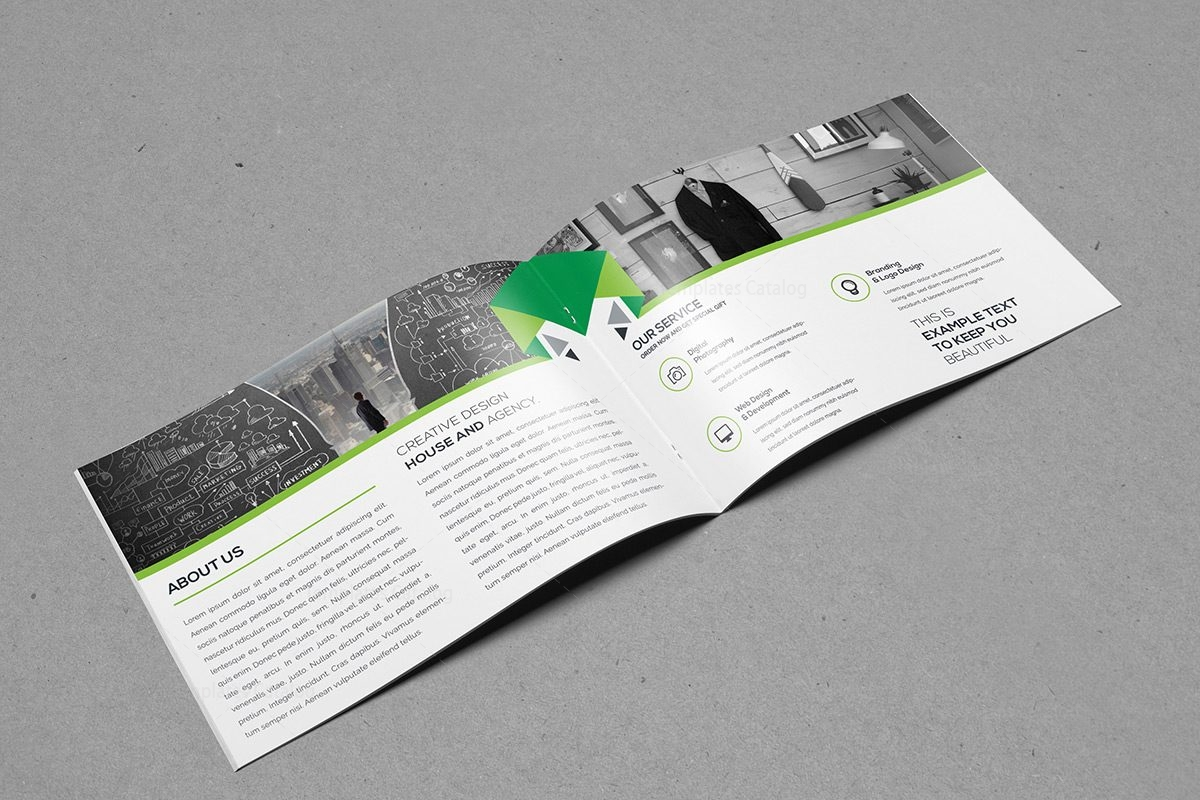 Landscape Brochure Template 000391 - Template Catalog