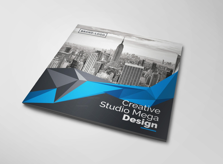 Mega Corporate Bifold Brochure Template 000416 - Template Catalog