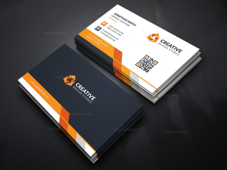 Modern business card template with creative design 000366 template modern business card template with creative design 3 friedricerecipe Choice Image