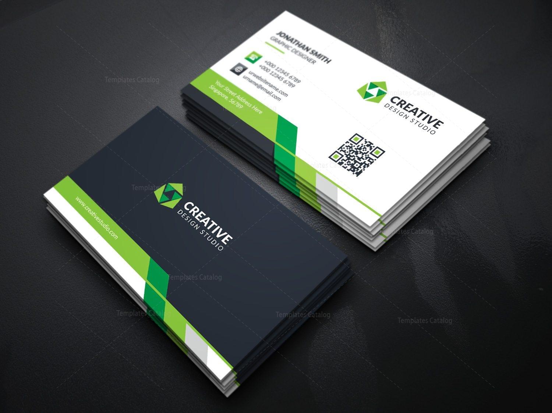 Modern business card template with creative design 000366 template modern business card template with creative design flashek Gallery