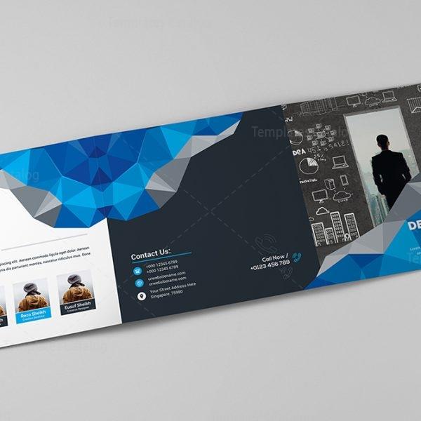 Modern Trifold Brochure Template Template Catalog - Modern brochure template