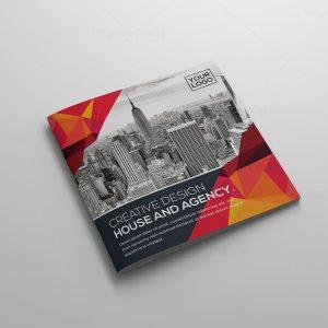 PSD Bifold Brochure Template