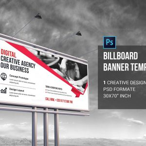 PSD Billboard Banner Template
