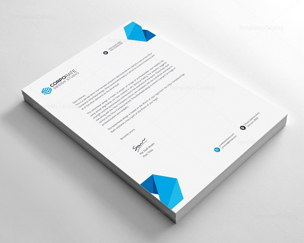 Psd corporate letterhead template 000401 template catalog psd corporate letterhead template 2 thecheapjerseys Image collections