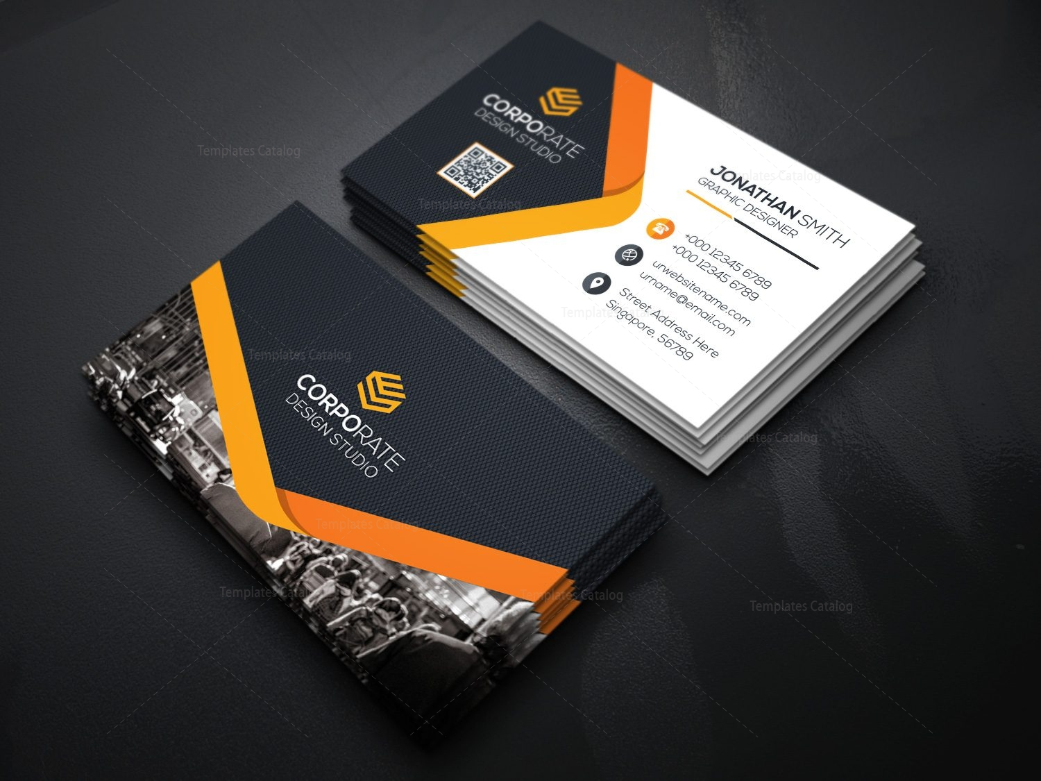people business card template 000358 template catalog