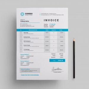 Pro Company Invoice